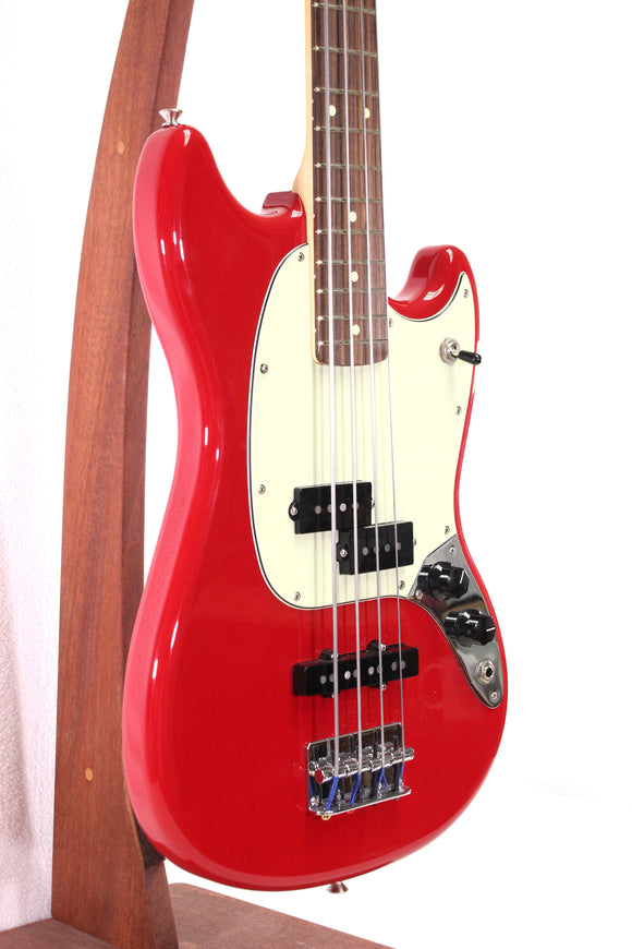 Used Fender Player Mustang Bass PT Red 3