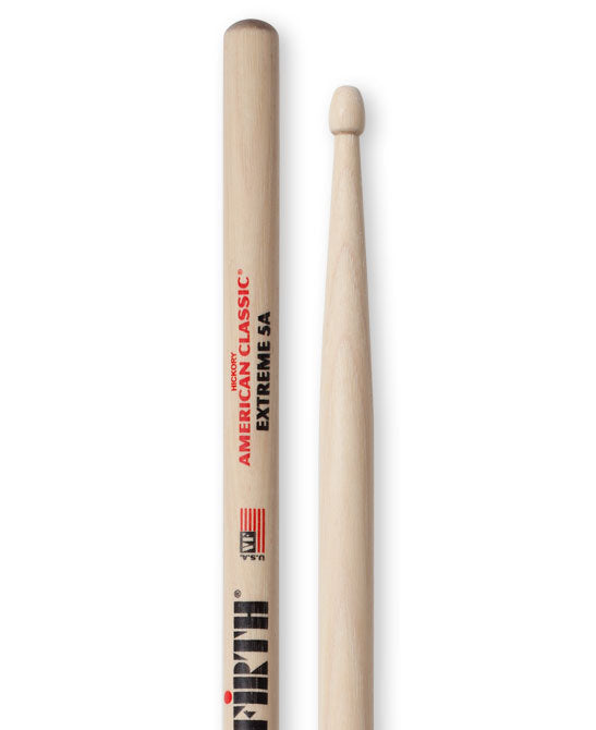 Vic Firth Extreme 5A - Wood Tip Drum Sticks