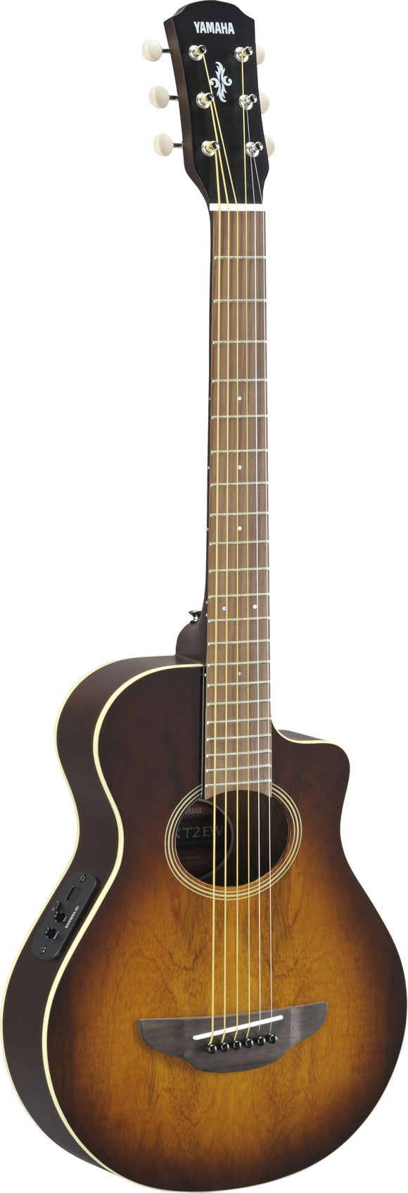 Yamaha APXT2EW 3/4 Size Thinline Acoustic/Electric Guitar - Tobacco Brown Sunburst