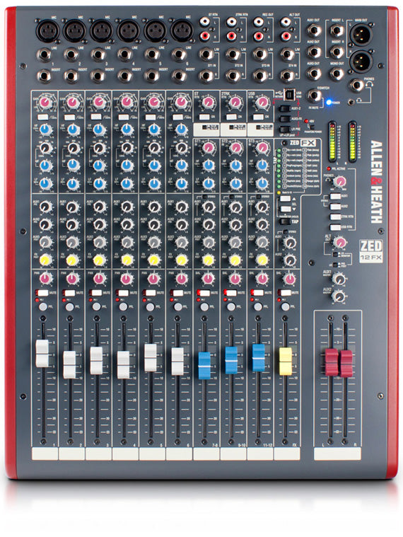 Allen & Heath ZED-12FX Multipurpose Mixer with Effects