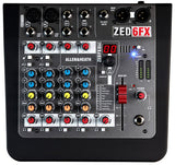 Allen & Heath ZED-6FX Compact 6 Input Analog Mixer with Effects