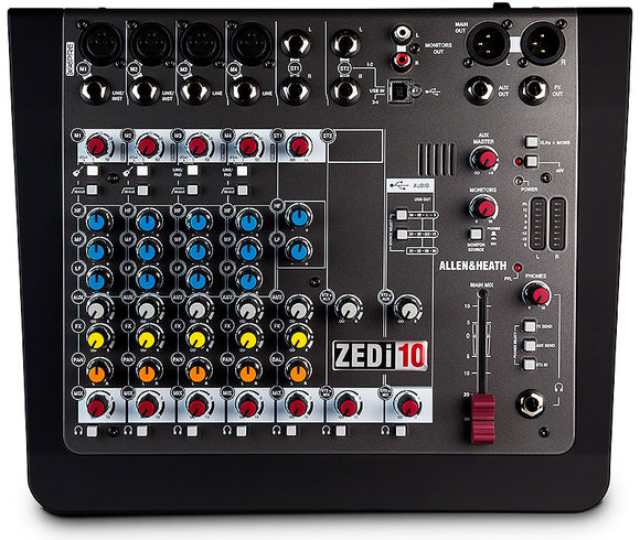 Allen & Heath ZEDi 10 Mixer & USB Interface