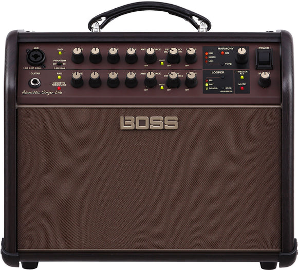 Boss Acoustic Singer Live - 60W Combo Acoustic Amplifier with Effects