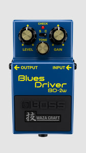 Boss BD-2w Blues Driver Waza Craft