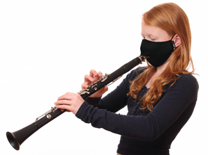 Gator Dual-Layer Wind Instrument Face Mask, Large sized