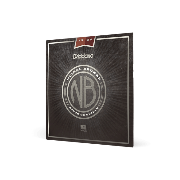 D'addario Nickel Bronze Open G