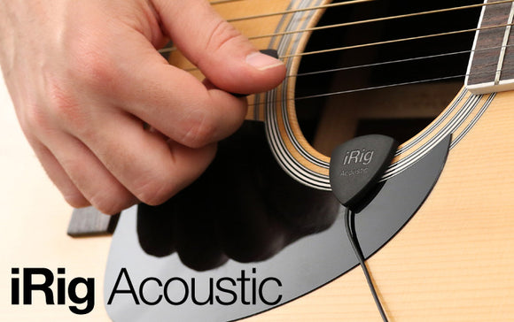 IK Multimedia iRig Acoustic Mobile Microphone & Interface