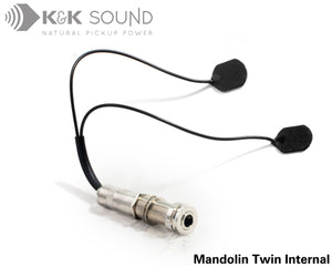 K&K Mandolin Twin Internal - Mandolin Pickup