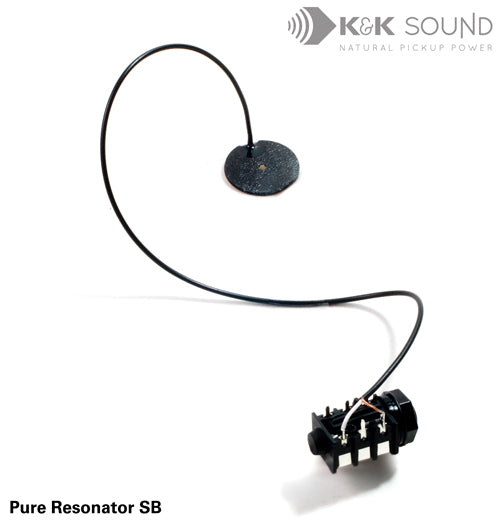 K&K Pure Resonator Spider Bridge Pickup