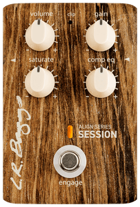 LR Baggs Align Series Session Acoustic Pedal w/ Saturation & Compression EQ