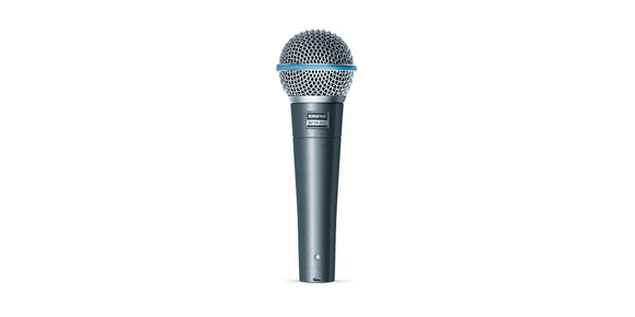 Shure Beta 58A Supercardiod Dynamic Vocal Microphone