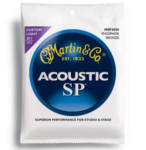 Martin MSP4050 SP Phosphor Bronze Custom Light .011