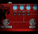 Tech 21 RK5 Richie Kotzen Fly Rig v2 Electric Guitar SansAmp & Multi-FX Pedal