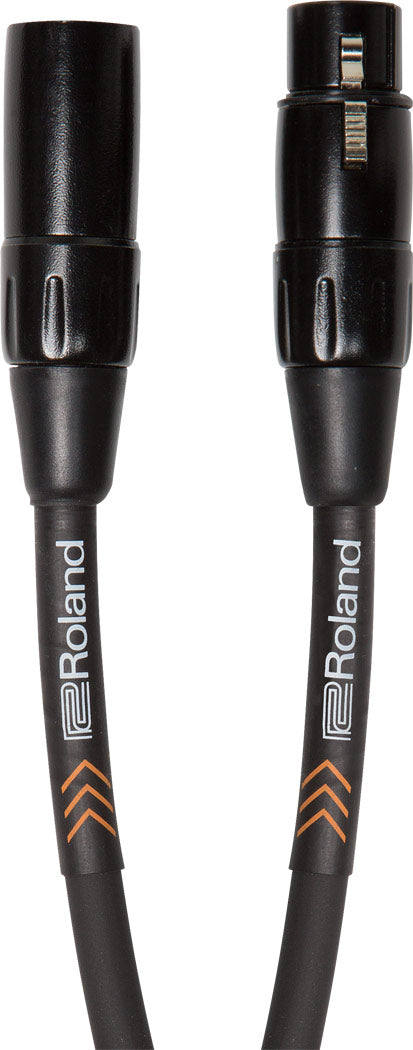Roland RMC-B25 Black Series Microphone Cable - 25ft