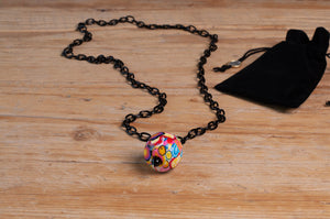 One by Trart Necklace Bola Multicolor