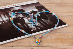 One by Trart Necklace Long Blue