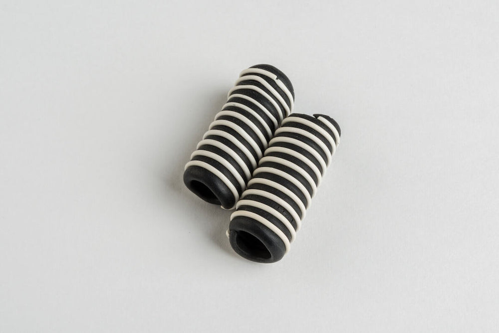 Charms - Black and White Rollers