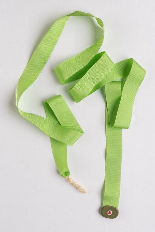 Necklace Ribbon - Green