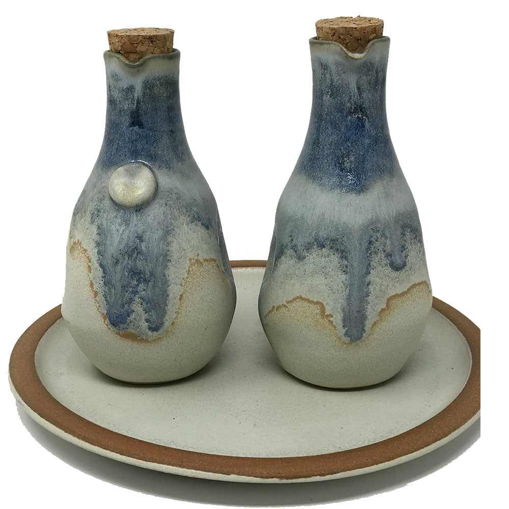 Terracotta Oil and Vinegar Set