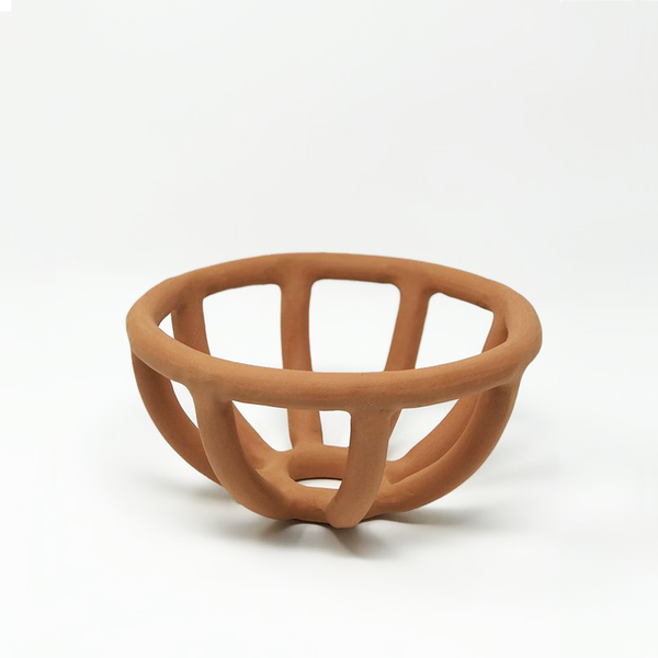 Terracotta Prong Bowl - Small