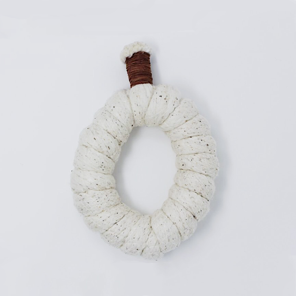 Cotton Lock Knot Trivet - Large by V.Sin