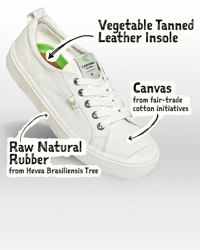 Sneakers with sustainable materials | C
