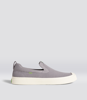 IBI Slip On Light Grey Knit Sneaker Women