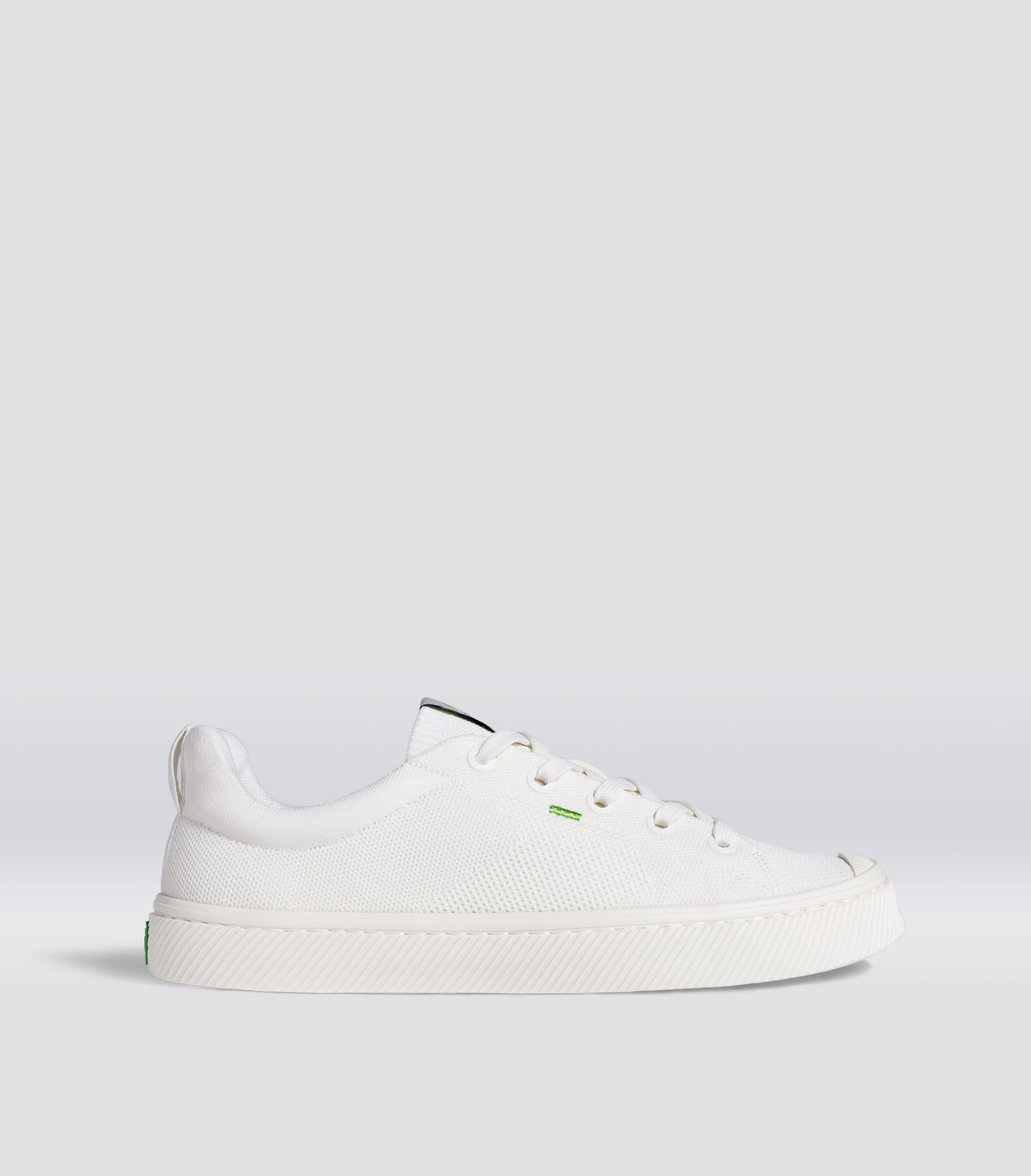 IBI Low Off-White Knit Sneaker Women