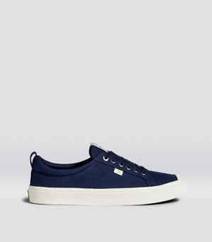 OCA Low Navy Canvas Sneaker Men