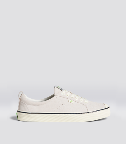 OCA Low Stripe Off-White Suede Sneaker Men