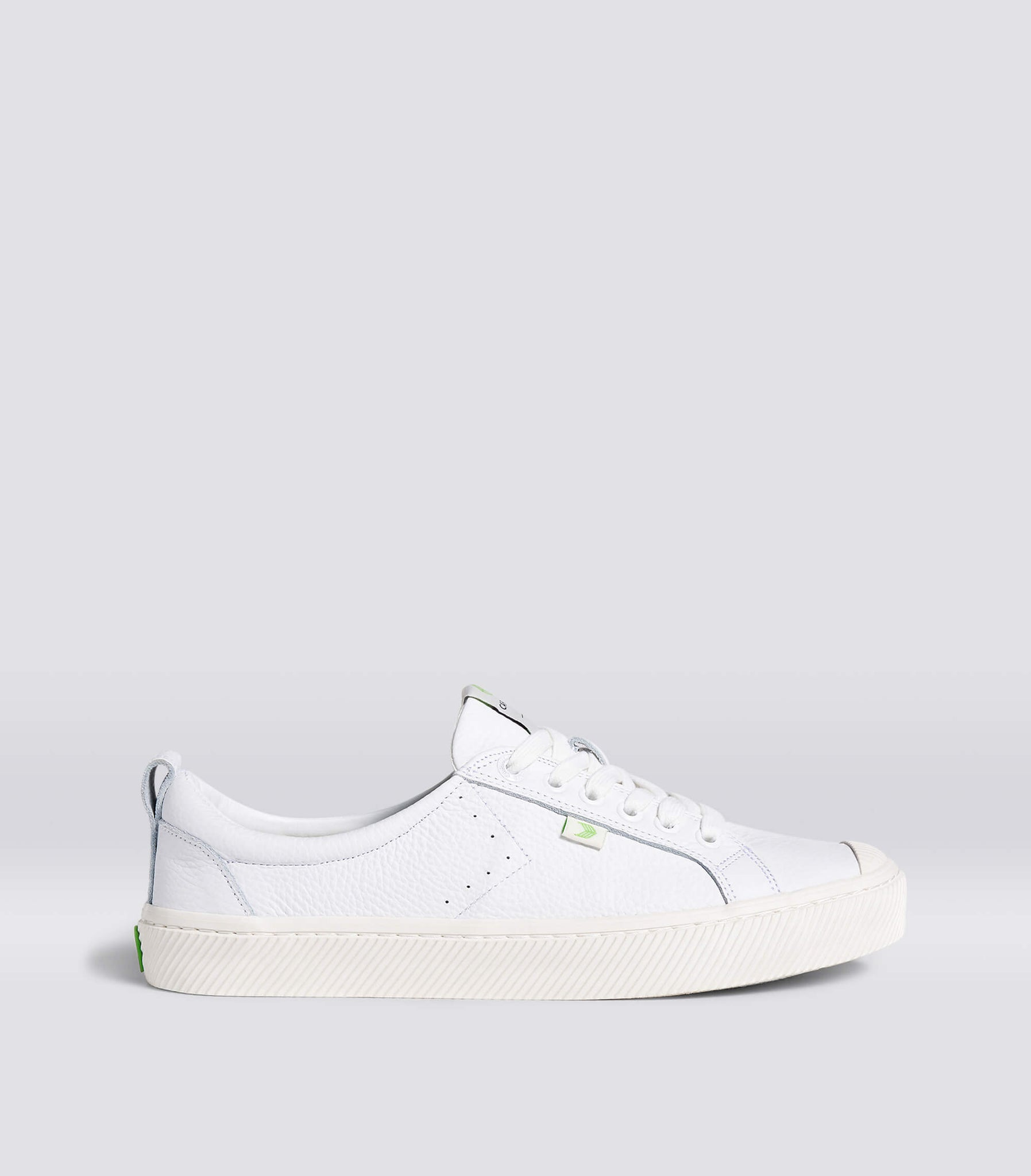 OCA Low White Premium Leather Sneaker Women