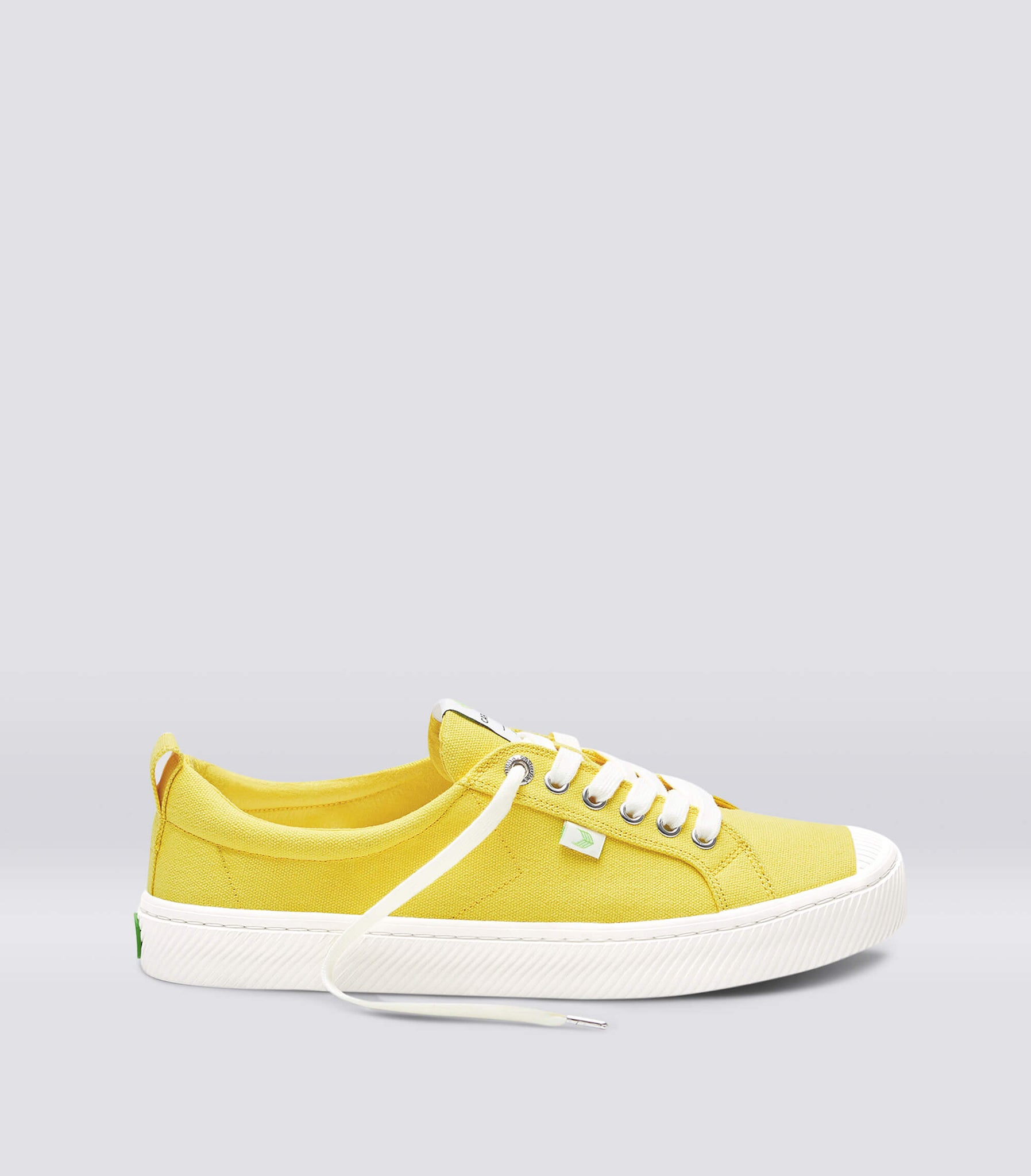 OCA Low Yellow Canvas Sneaker Men