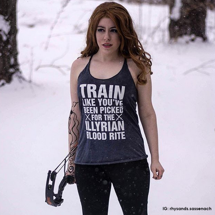 Train Like You've Been Tank Top