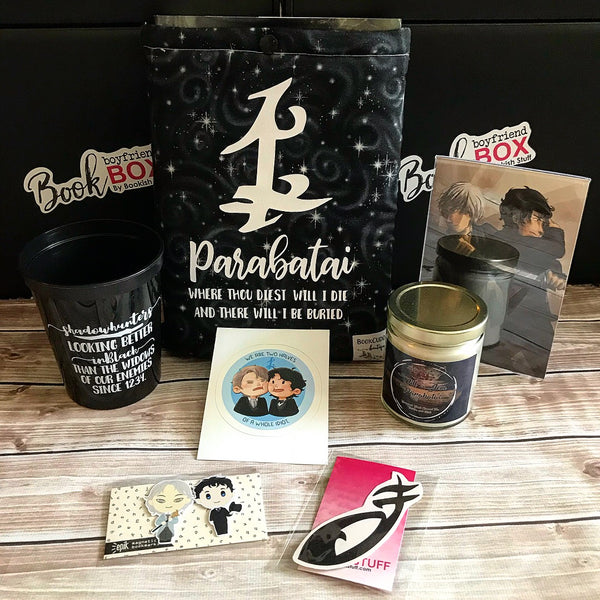 Shadowhunters Will and Jem Parabatai Book Boyfriend Box
