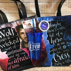 Wolf Lunar Chronicles Tote Bag