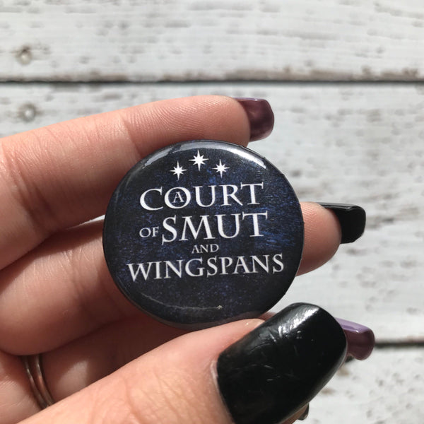 A Court of Smut and Wingspans Button
