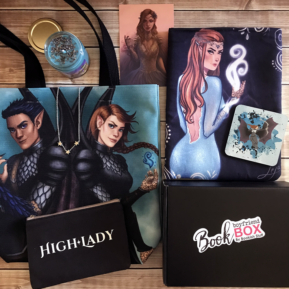 ACOFAS High Lady Feyre Book Girlfriend Box