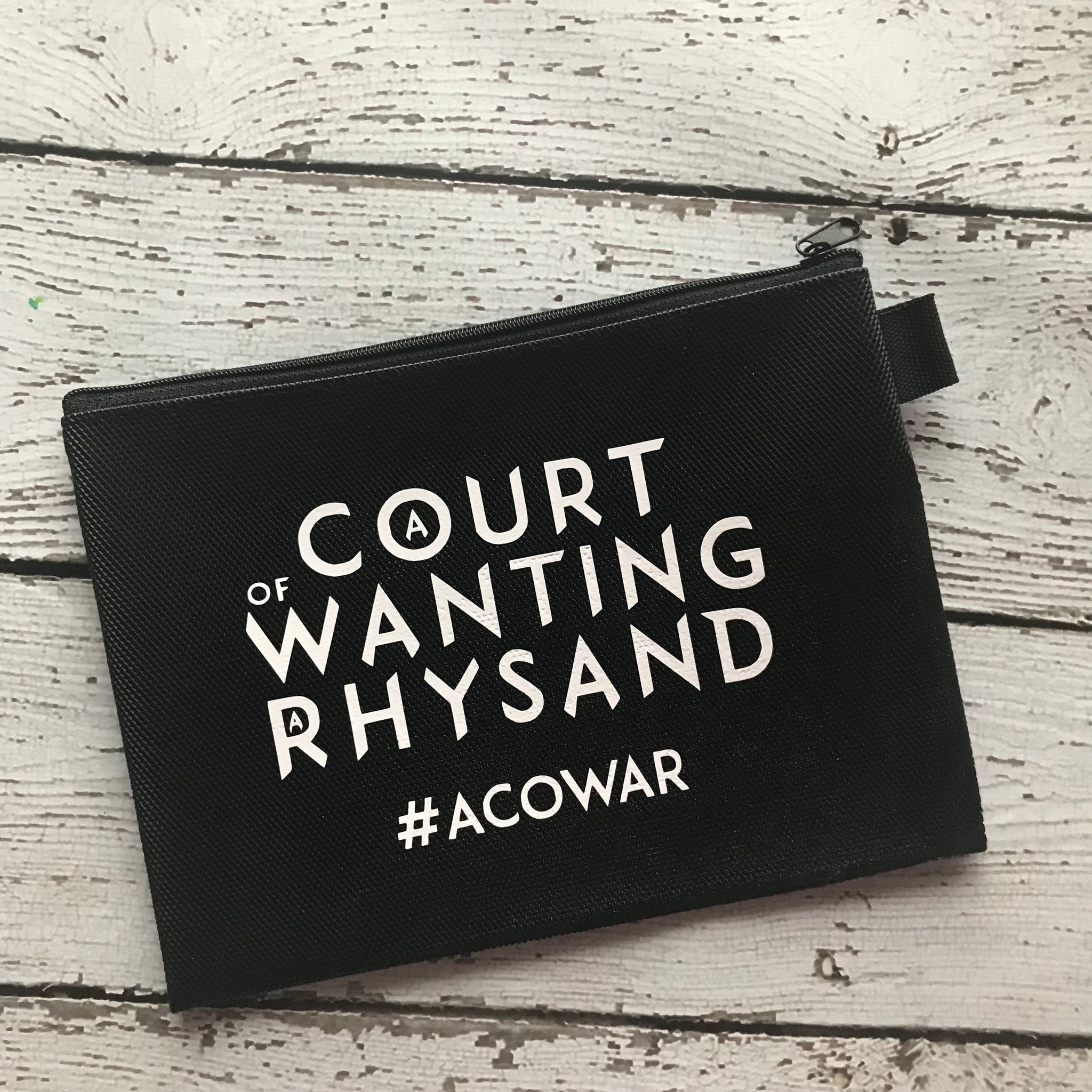 Rhysand Carry All Pouch (imperfect read description)