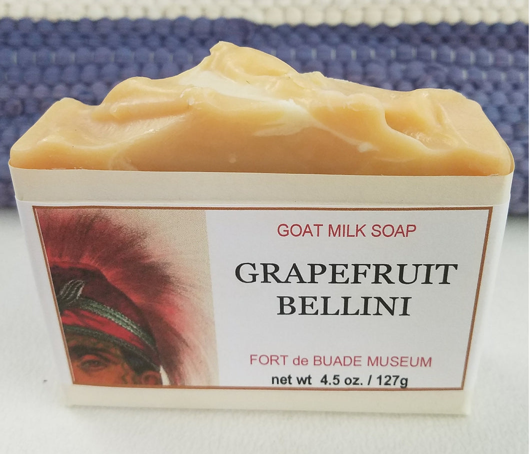 Grapefruit Bellini Goat Milk Bar Soap