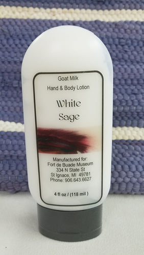 White Sage Goat's Milk Lotion