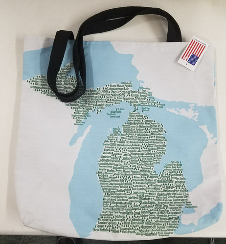 Michigan Cities Tote