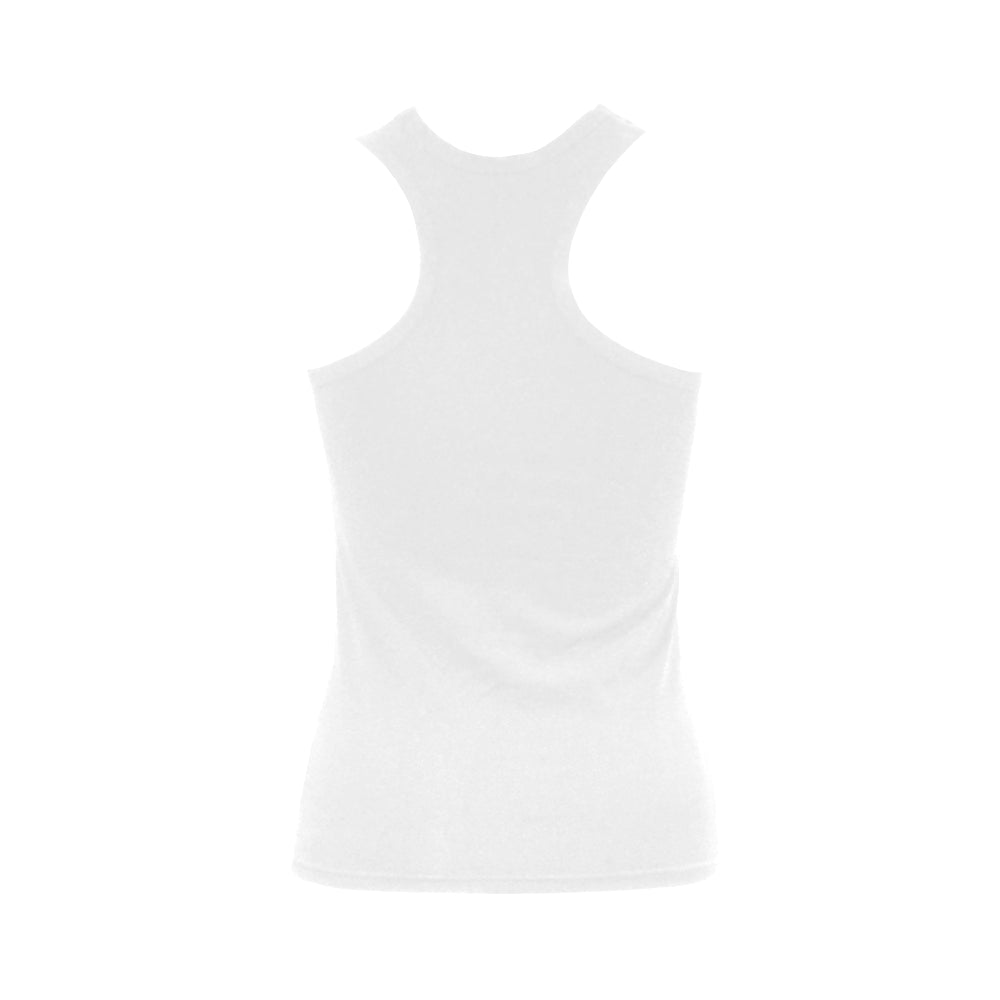 Magpie Solo White Tank Top
