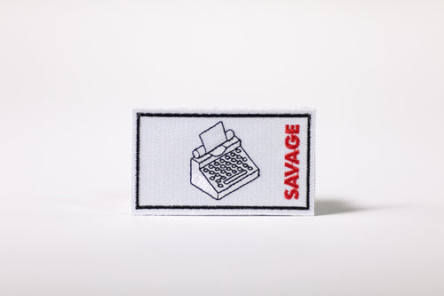 Savage Industries Writing Patch
