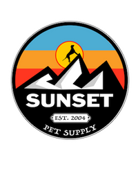 Sunset pet supply logo