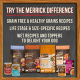 Merrick Grain Free Real Duck & Sweet Potato Dry Dog Food