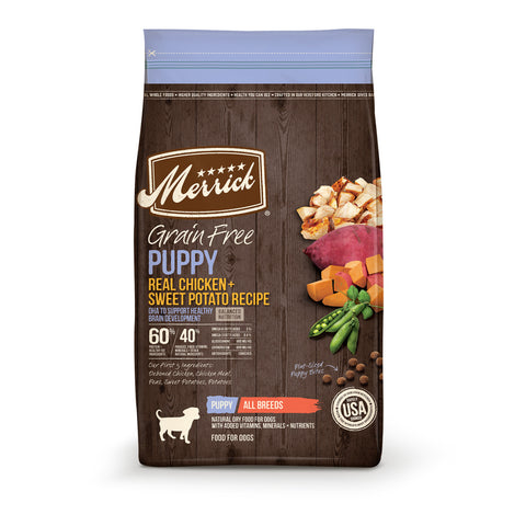 Merrick Grain Free Puppy Chicken Recipe Dry Dog Food