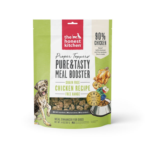 The Honest Kitchen Proper Toppers Grain Free Chicken Recipe for Dogs