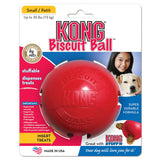 KONG Biscuit Ball Dog Toy