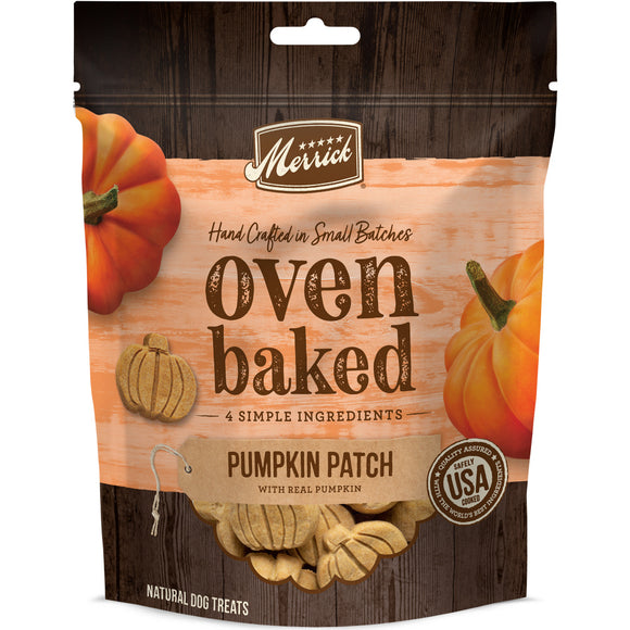 Merrick Oven Baked Pumpkin Patch Dog Treats