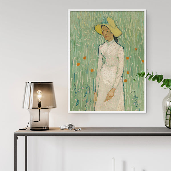 Van Gogh Print - Girl in White - Stickaroo Wall Decor